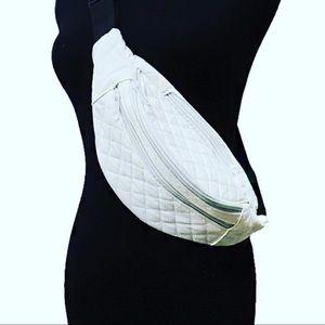 Handbags - White fanny pack